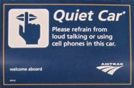 quietCar-sign